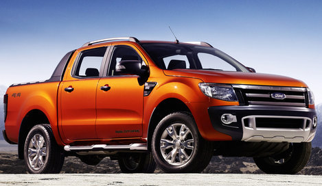 Ford Ranger Double Cab, пикап