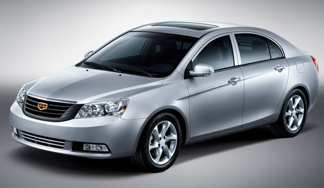 Geely Emgrand, седан